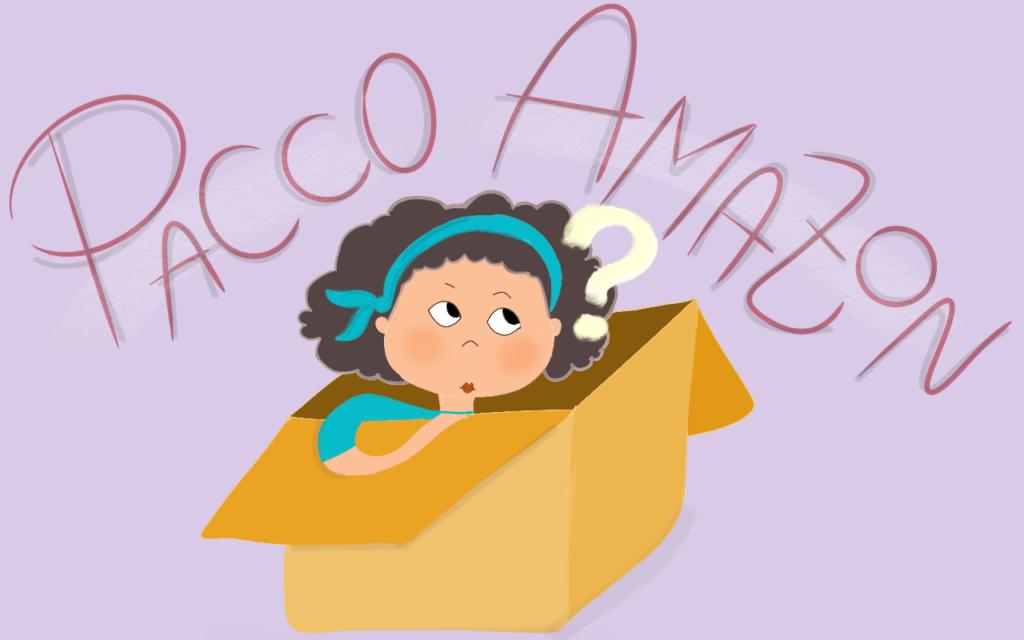Mia figlia, un pacco Amazon – Ricci afro a domicilio