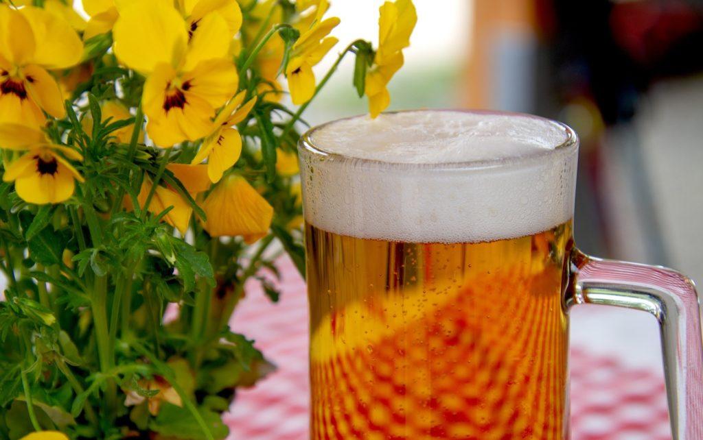 ecco a voi la birra! cosa c'è di meglio in estate che bere un boccale di birra fresco?