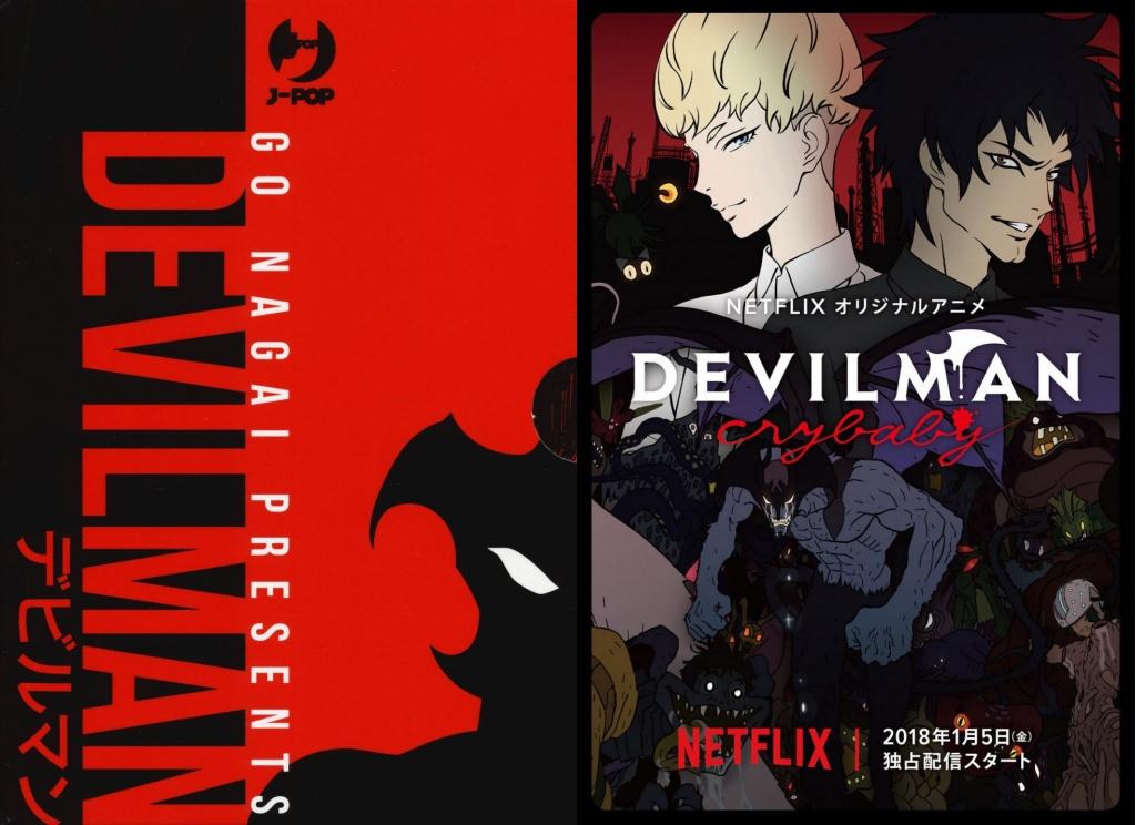Devilman – Le differenze tra il manga e la serie Devilman Crybaby di Netflix