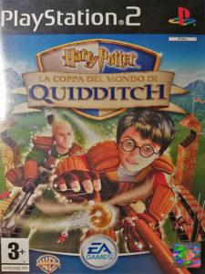 """La copertina del videogame """"Harry Potter e la coppa del mondo di quidditch"""", della EA Games"""
