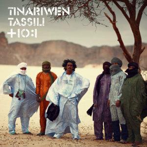 La copertina di Tassili, album firmato Tinariwen, vincitore del Best World Music ai Grammy del 2012
