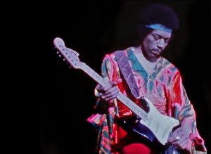 Un momento della vita di Jimi Hendrix: Purple Haze live