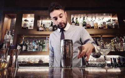 Lighty Jack – Un cocktail per Halloween a base di gin e zucca, ispirato a Jack-O-Lantern