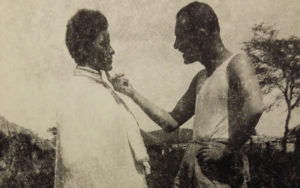 Immagine di un soldato fascista in Africa, che abbiamo scelto come copertina del nostro articolo sul Madamato
