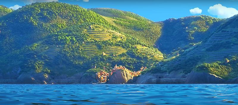 Luca Pixar - le ambientazioni ricreate