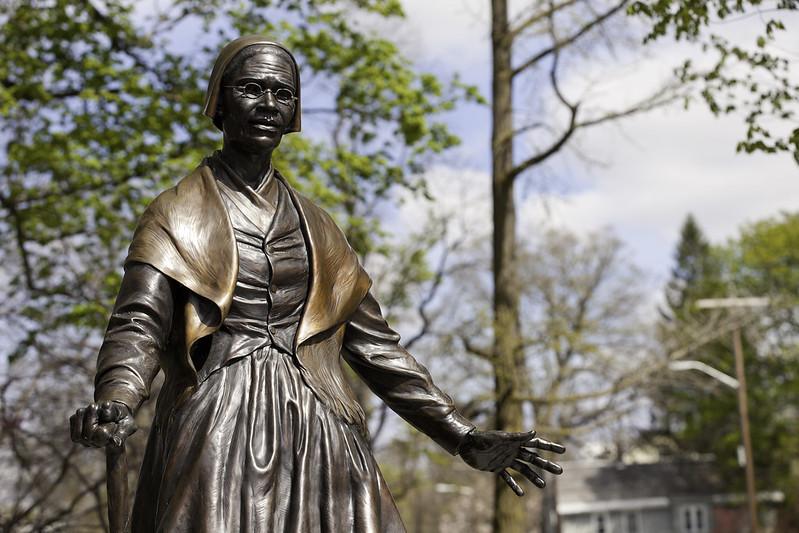 una statua di Sojourner Truth