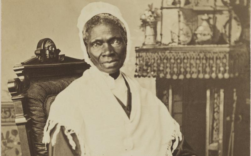 Sojourner Truth in una fotografia restaurata da Randall Studio