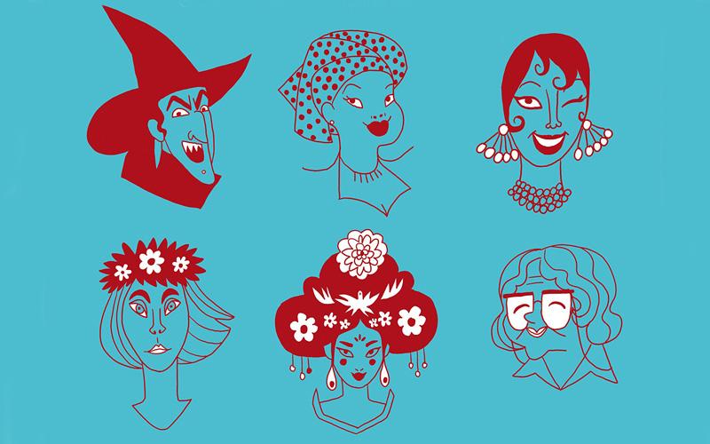 Un dettaglio della copertina di Indomite, uno dei fumetti femministi che consigliamo per questa estate 2021
