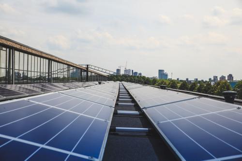 Pannelli solari a Utrecht, Paesi Bassi