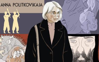 Quaderni russi – Igort e il ricordo a fumetti della giornalista Anna Politkovskaja