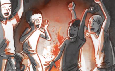 Flamer, il fumetto di esordio di Mike Curato – Un'adolescenza Lgbt tra falò e canoe